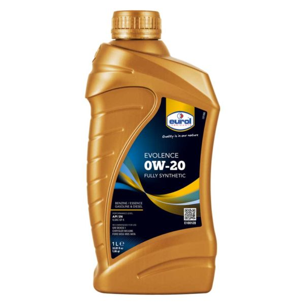 Масло Eurol Evolence 0W-20