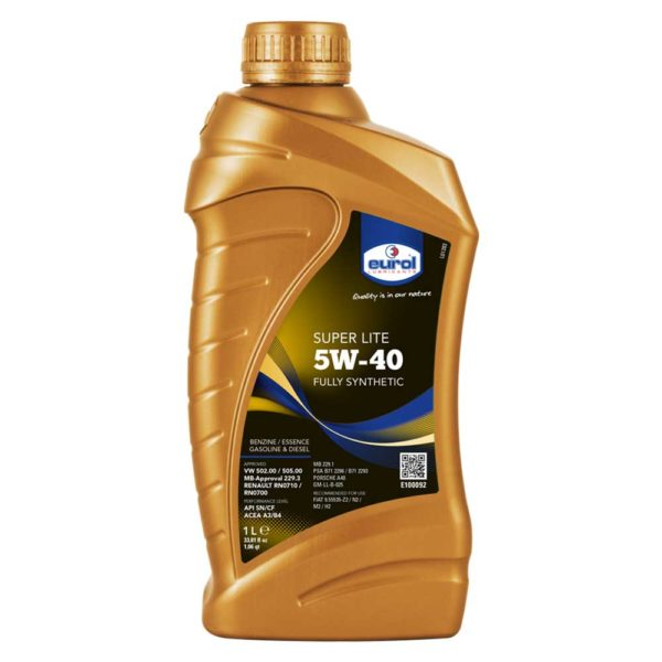 масло Eurol Super Lite 5W-40