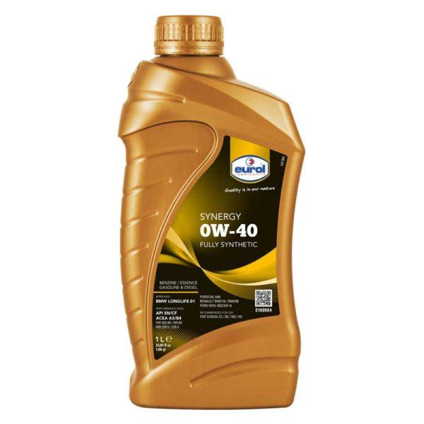 масло Eurol Synergy 0W-40