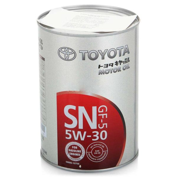 Масло Toyota 5W-30 08880-10706