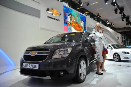 Масло Chevrolet Orlando